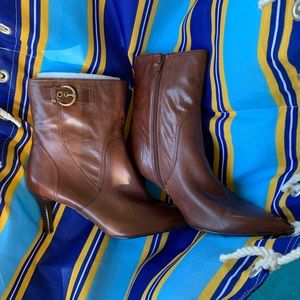 Nine West Brown Boots Size 9.5